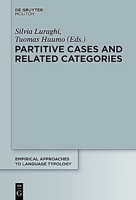 Partitive Cases and Related Categories