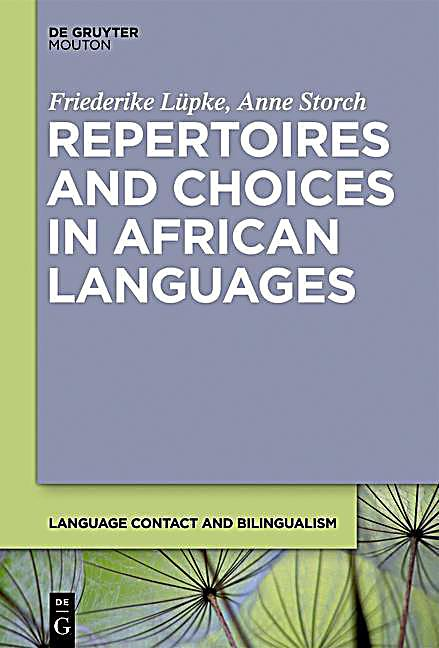 Repertoires and Choices in African Languages