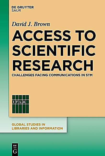 Access to Scientific Research