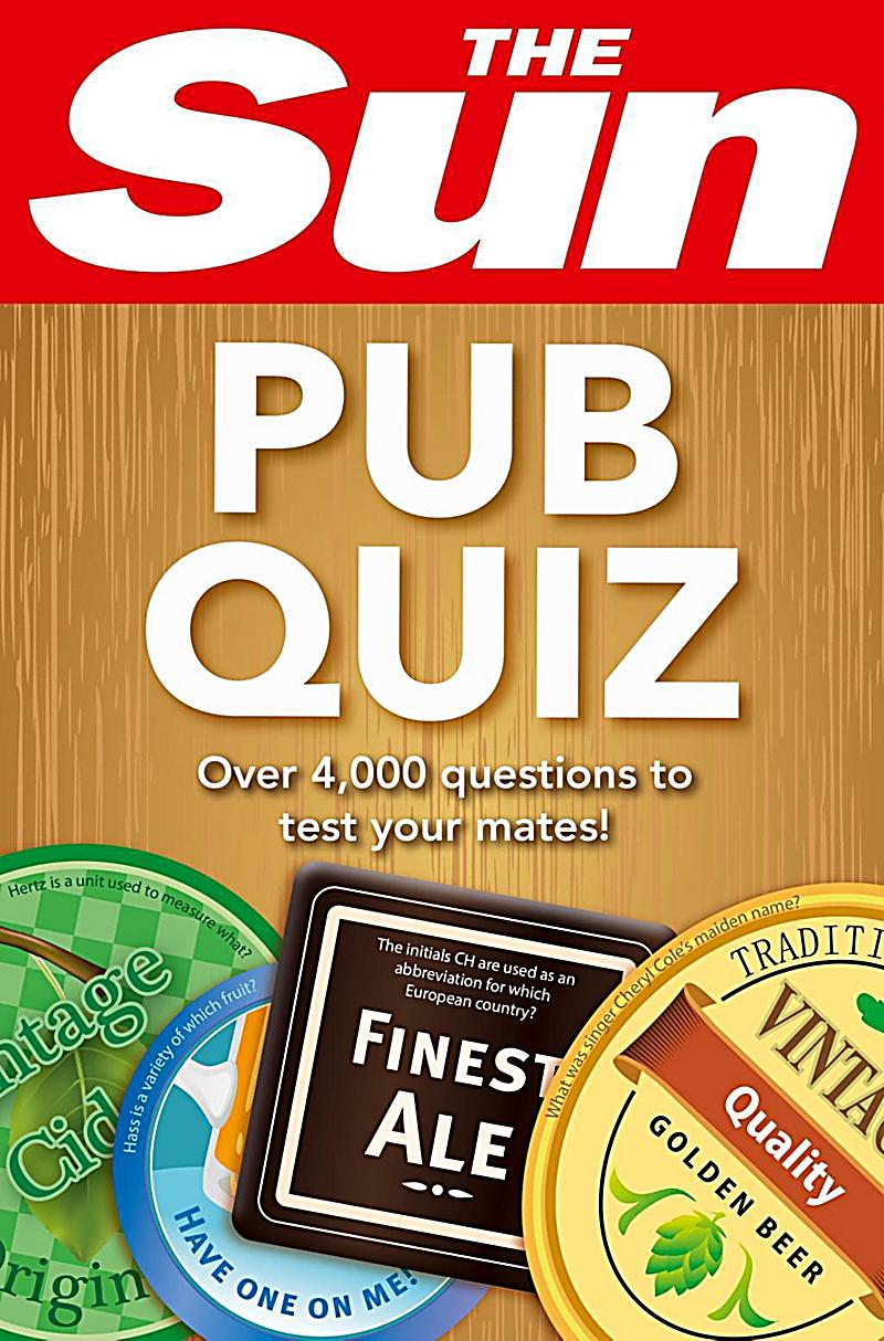 Reference - E-books - Games and Puzzles: The Sun Pub Quiz