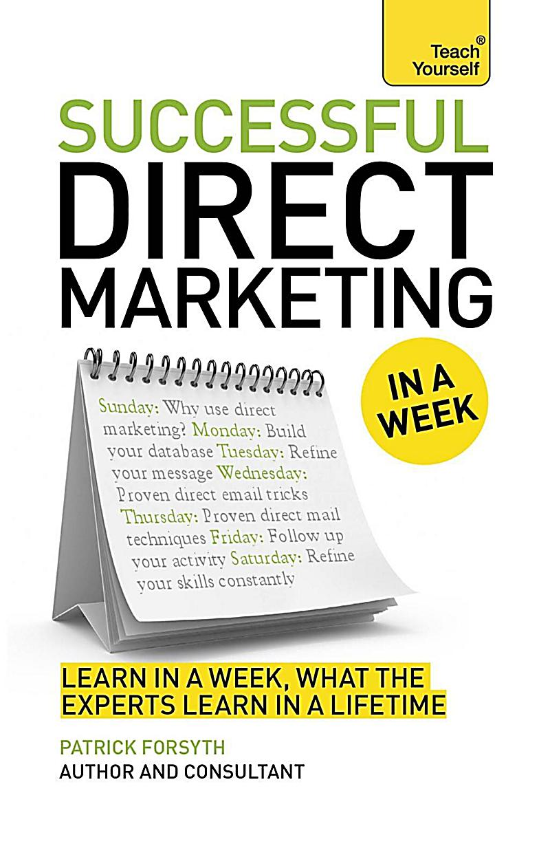 Successful Direct Marketing in a Week: Teach Yourself eBook ePub