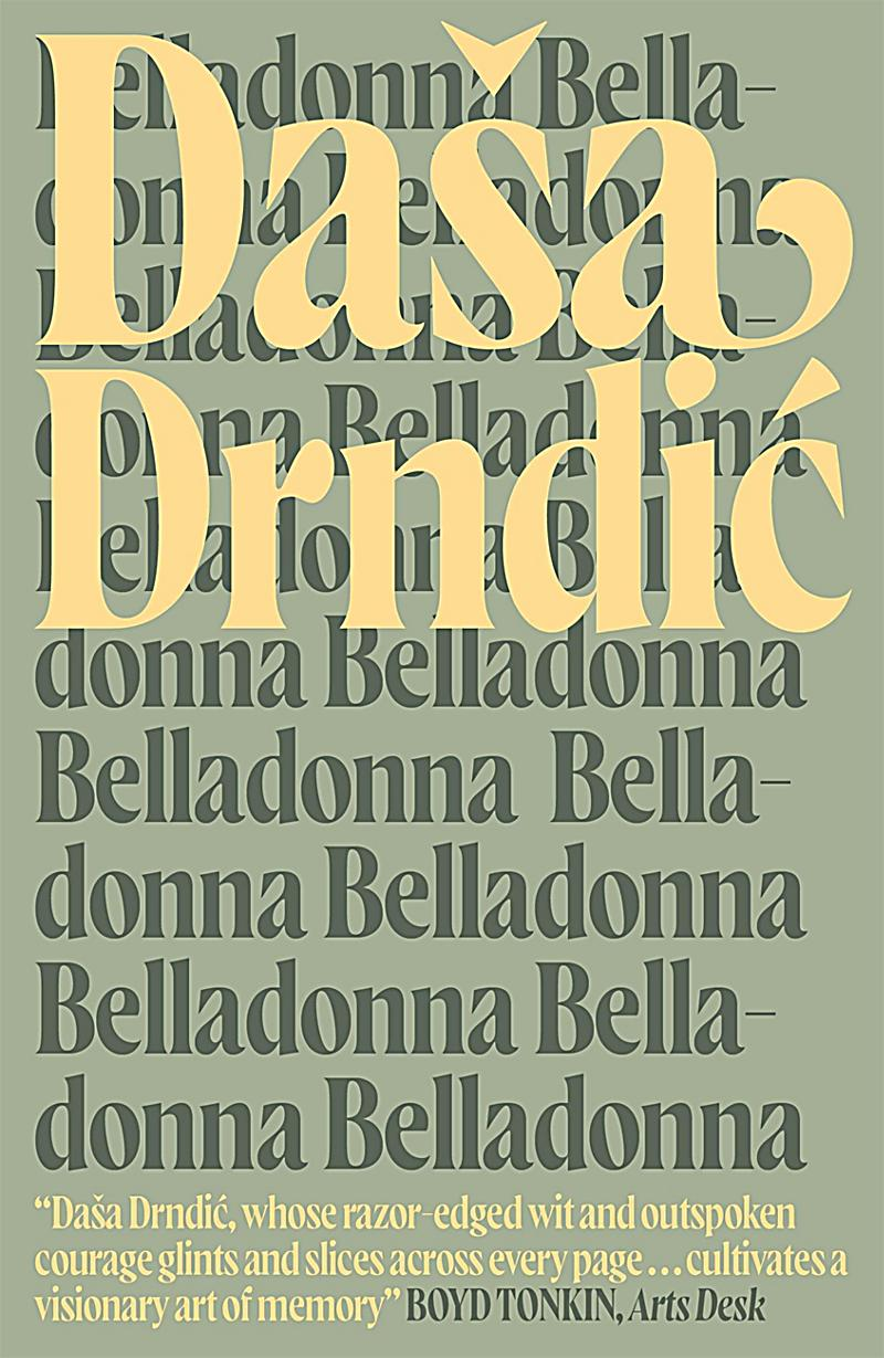 MacLehose Press Editions: Belladonna