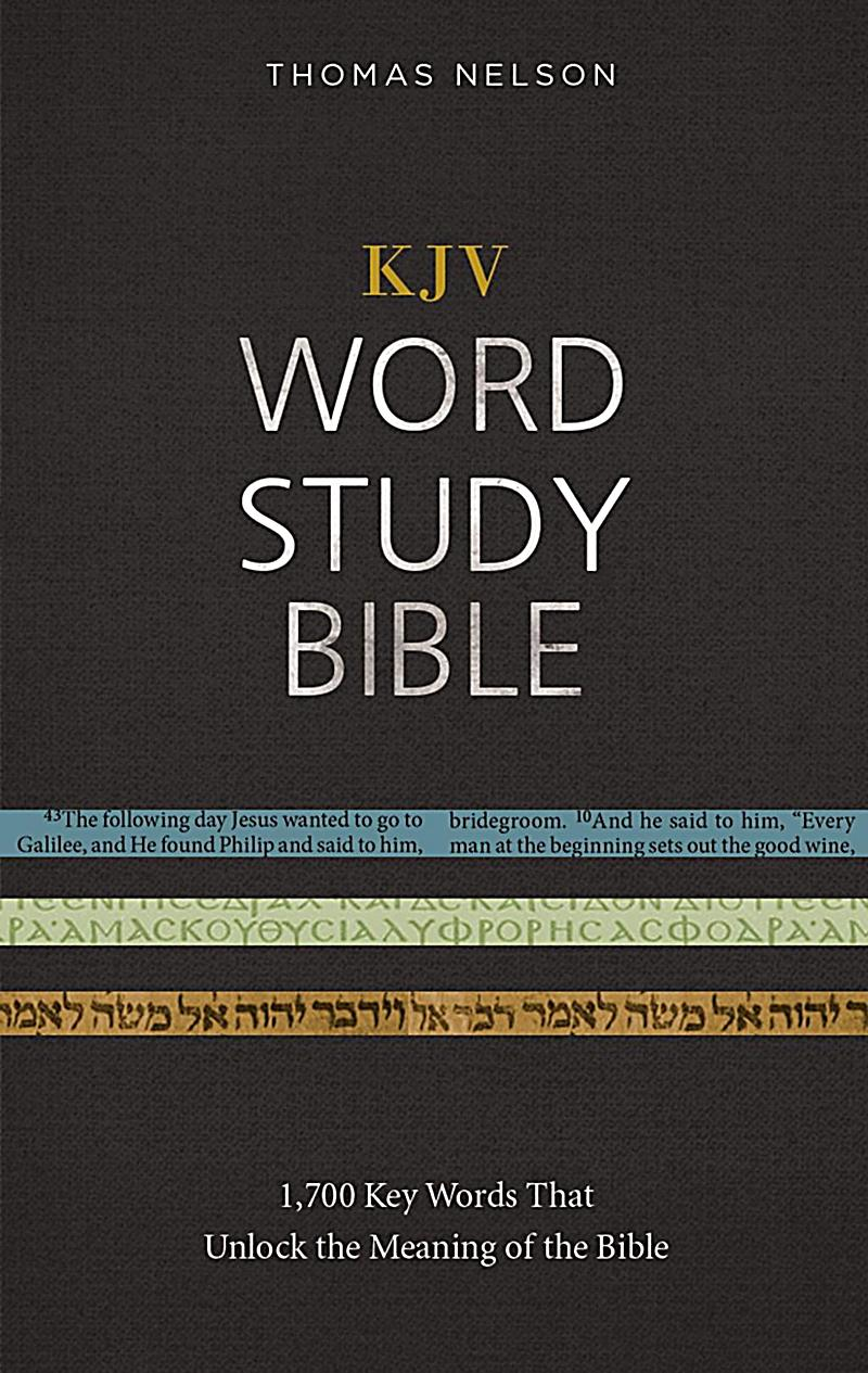 KJV, Word Study Bible, Ebook, Red Letter Edition