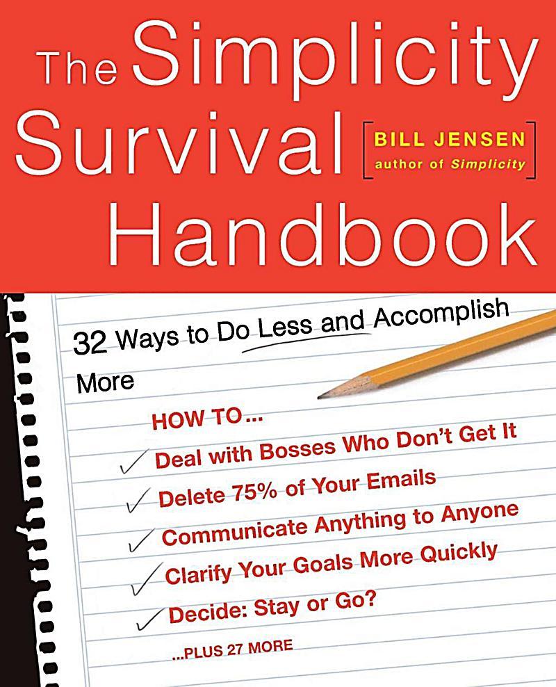 Basic Books: The Simplicity Survival Handbook