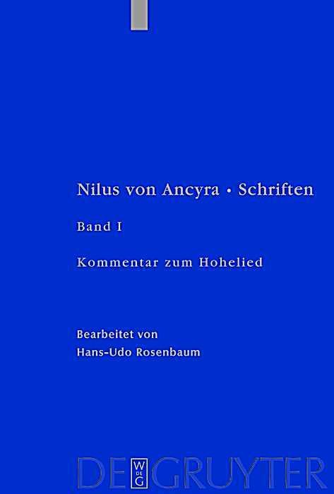 Patristische Texte und Studien: . Kommentar zum Hohelied