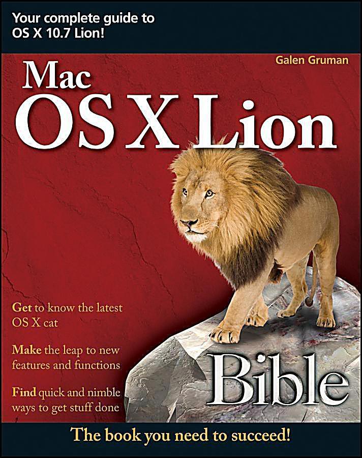 Mac OS X Lion Bible