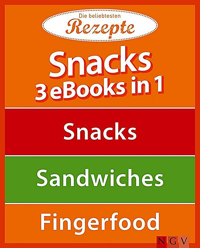3 eBooks in 1: Snacks - 3 eBooks in 1
