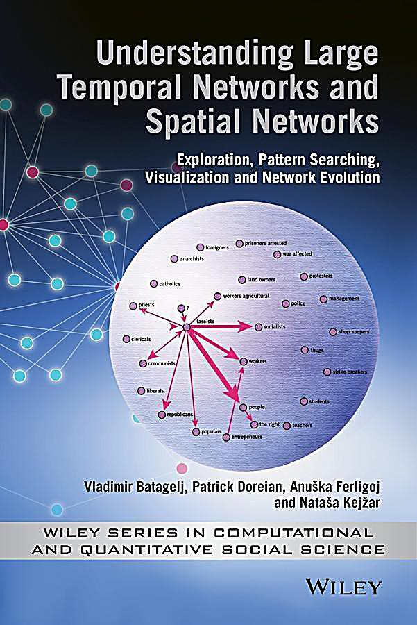 Understanding Large Temporal Networks and Spatial Networks