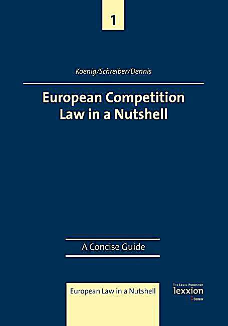 European Competition Law in a Nutshell