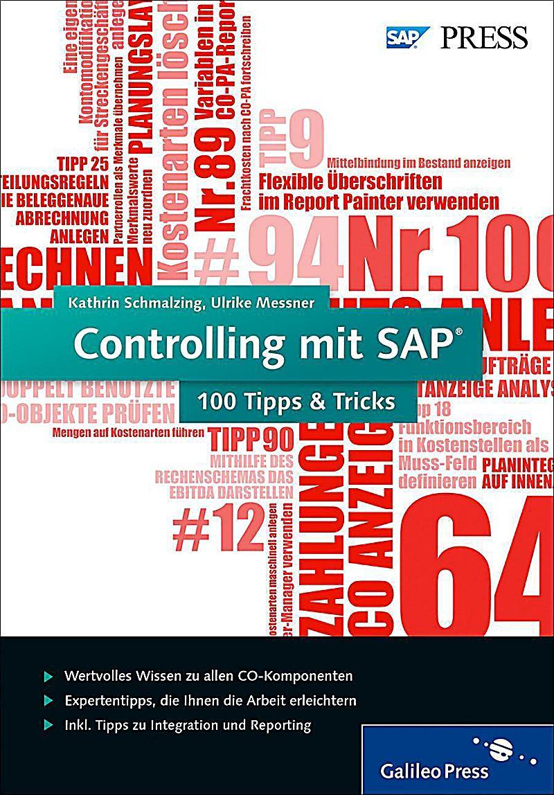SAP Press: Controlling mit SAP - 100 Tipps & Tricks