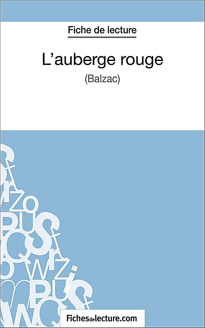 L´auberge rouge de Balzac (Fiche de lecture)