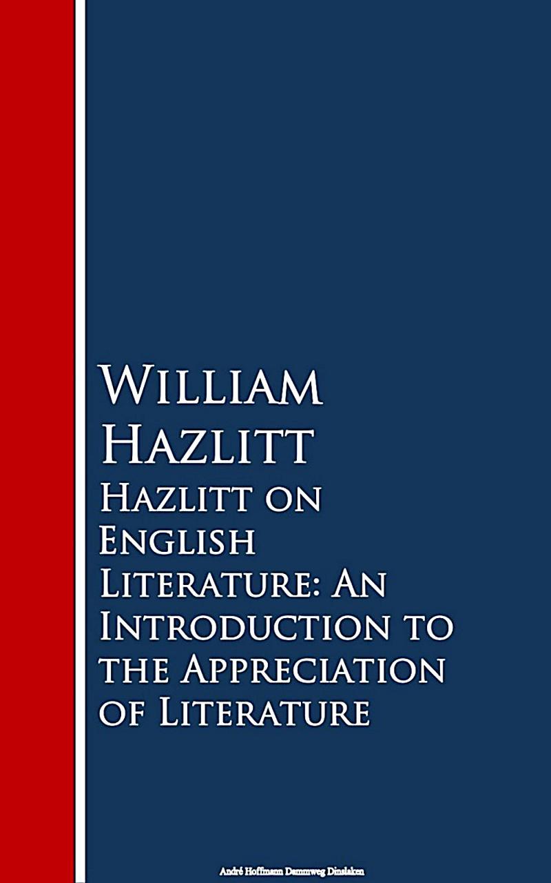 Image of Hazlitt on English Literature
