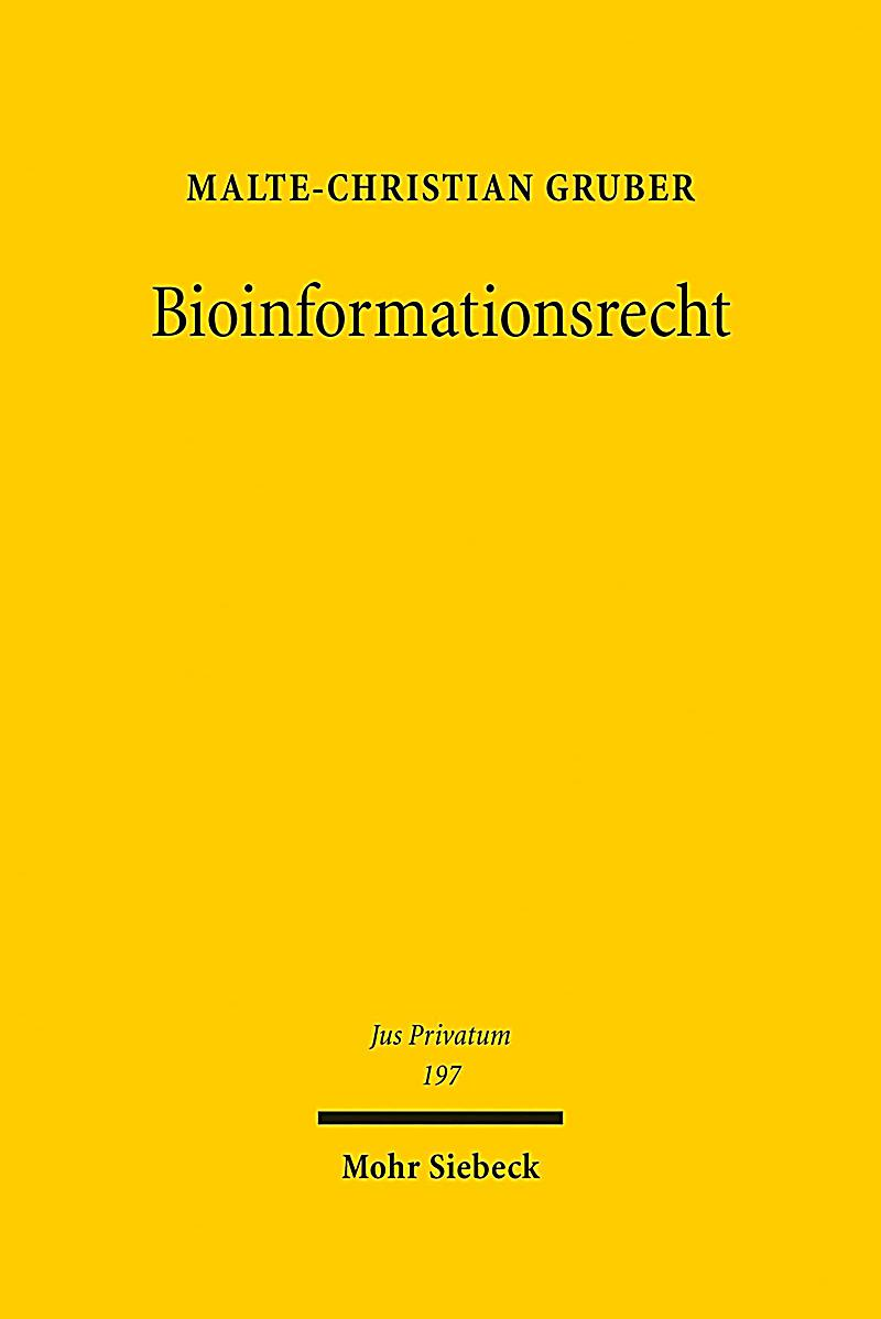 Bioinformationsrecht