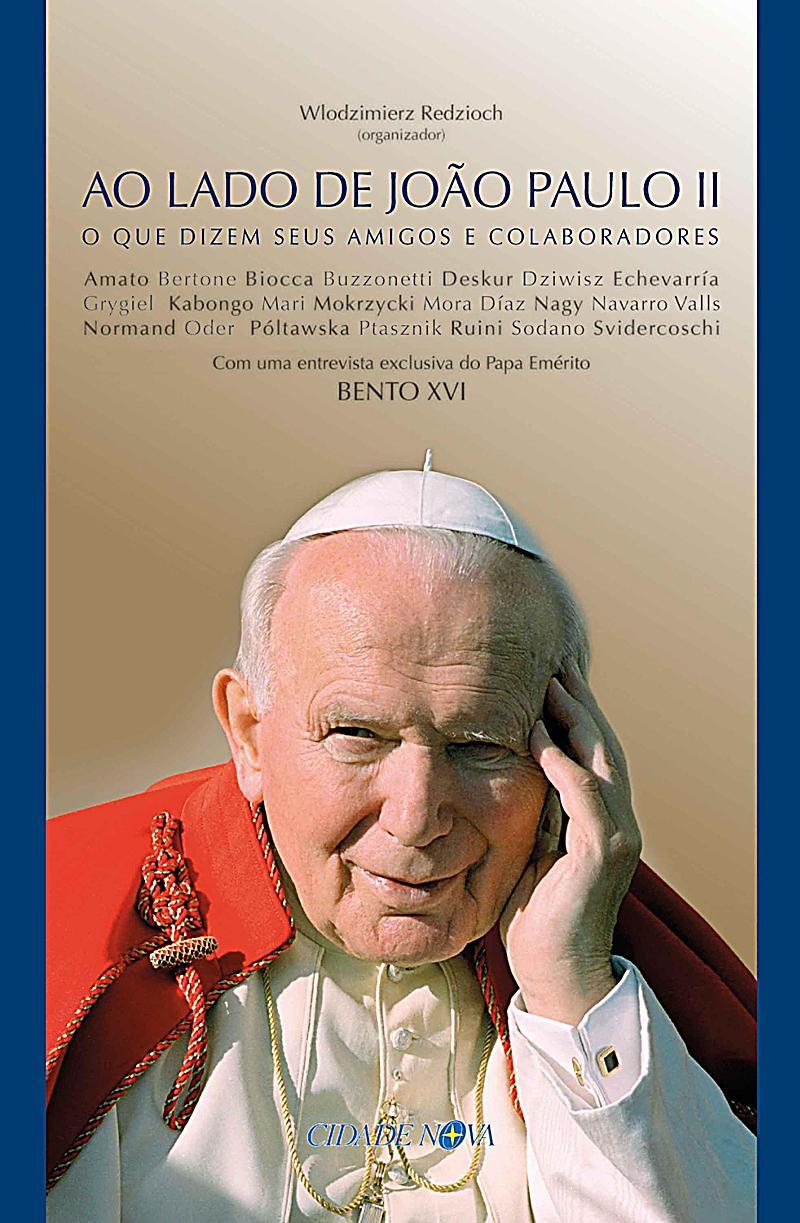 Ao lado de João Paulo II