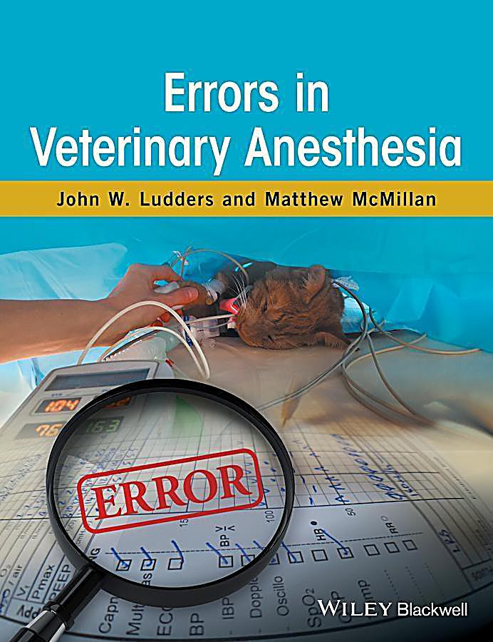 Errors in Veterinary Anesthesia