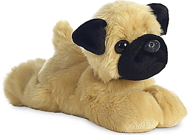Image of Mini Flopsie Mr. Pugster Mops, ca 20,5 cm