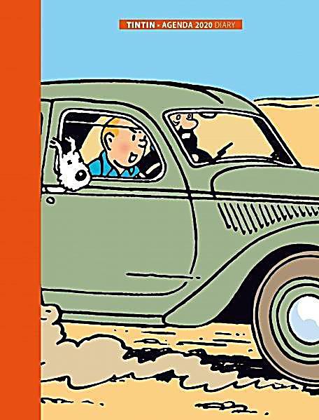 Image of Tim & Struppi / Tintin Agenda 2020 Klein