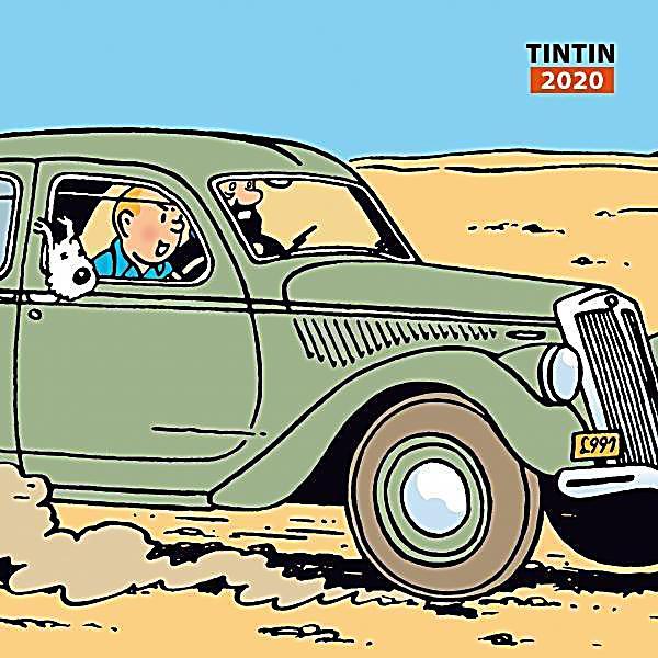 Image of Tim & Struppi Wandkalender 2020