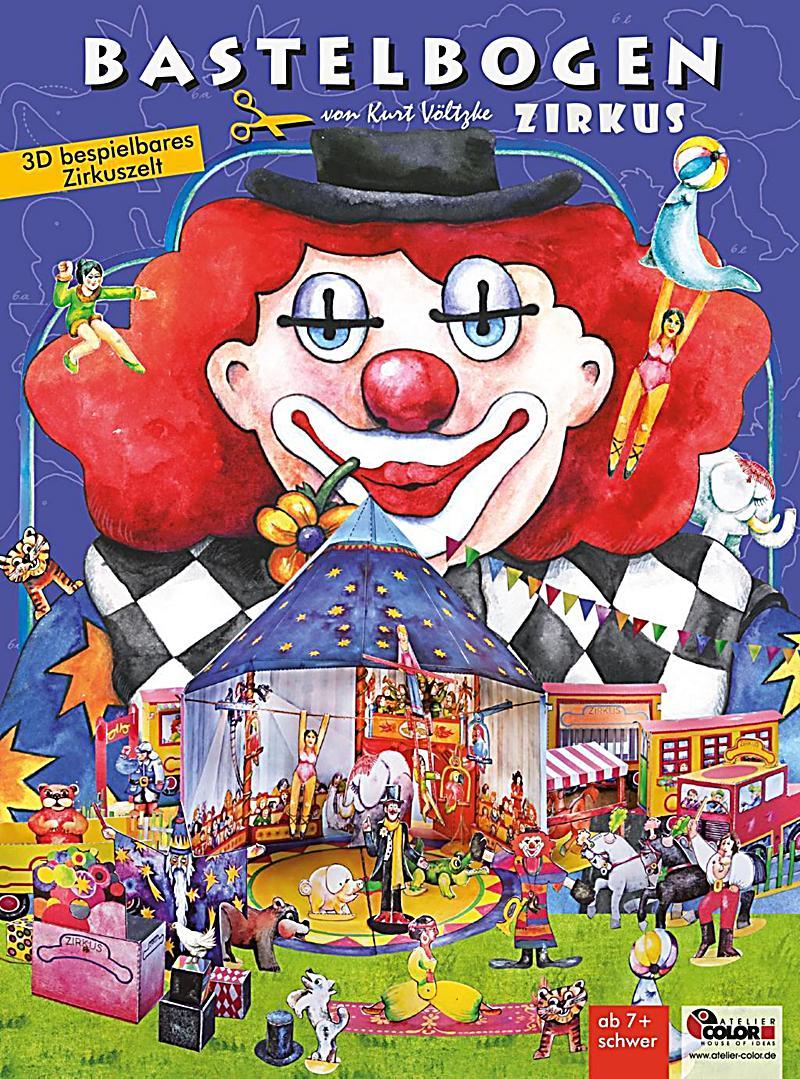 Image of Zirkus Bastelbogen