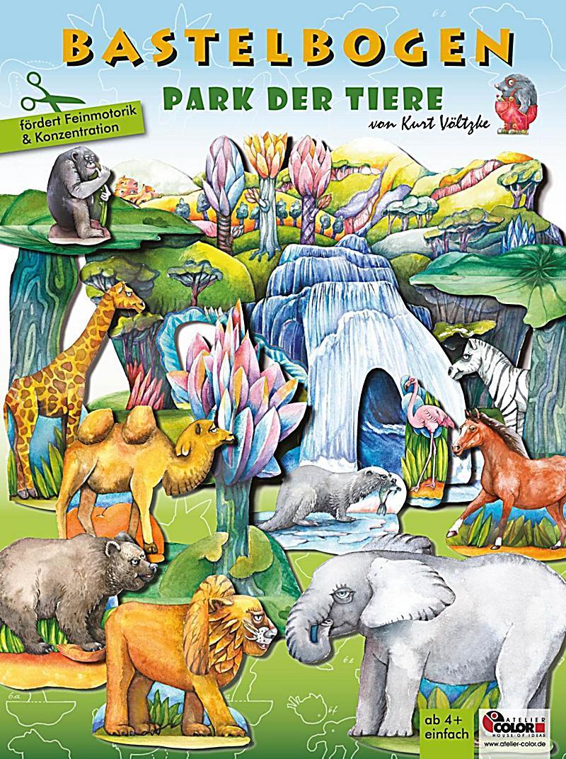 Image of Park der Tiere - Bastelbogen