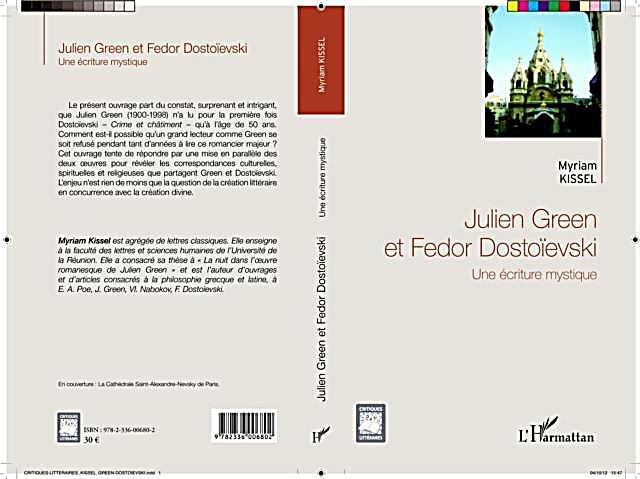 Julien Green et Fedor Dostoievski