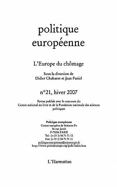 Europe du chomage