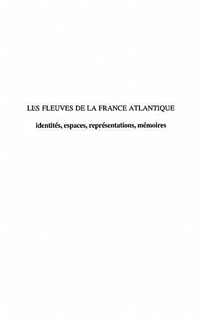 Fleuves de france atlantique Les