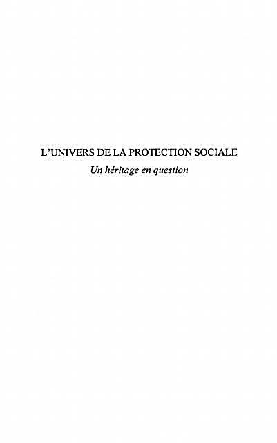 L´univers de la protection sociale