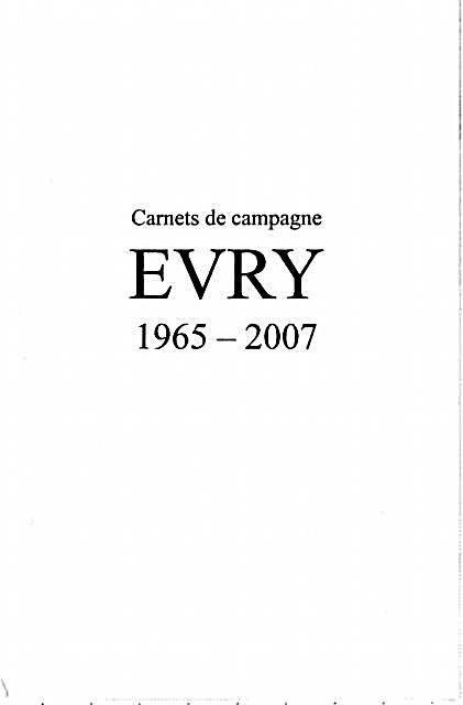 Carnets de campagne