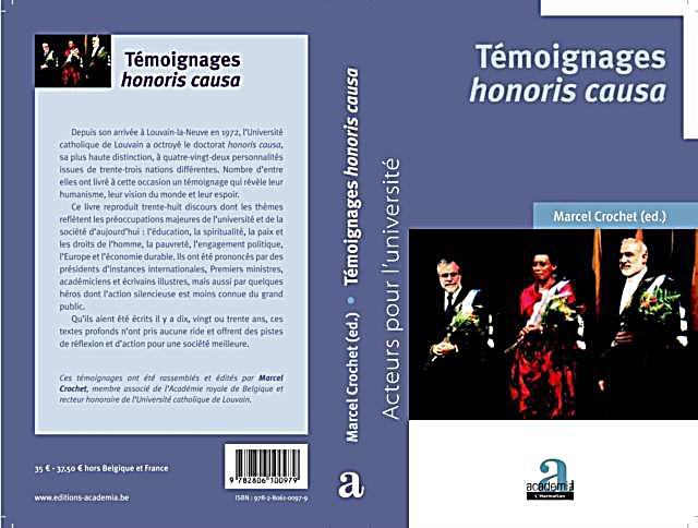 Temoignage Honoris Causa