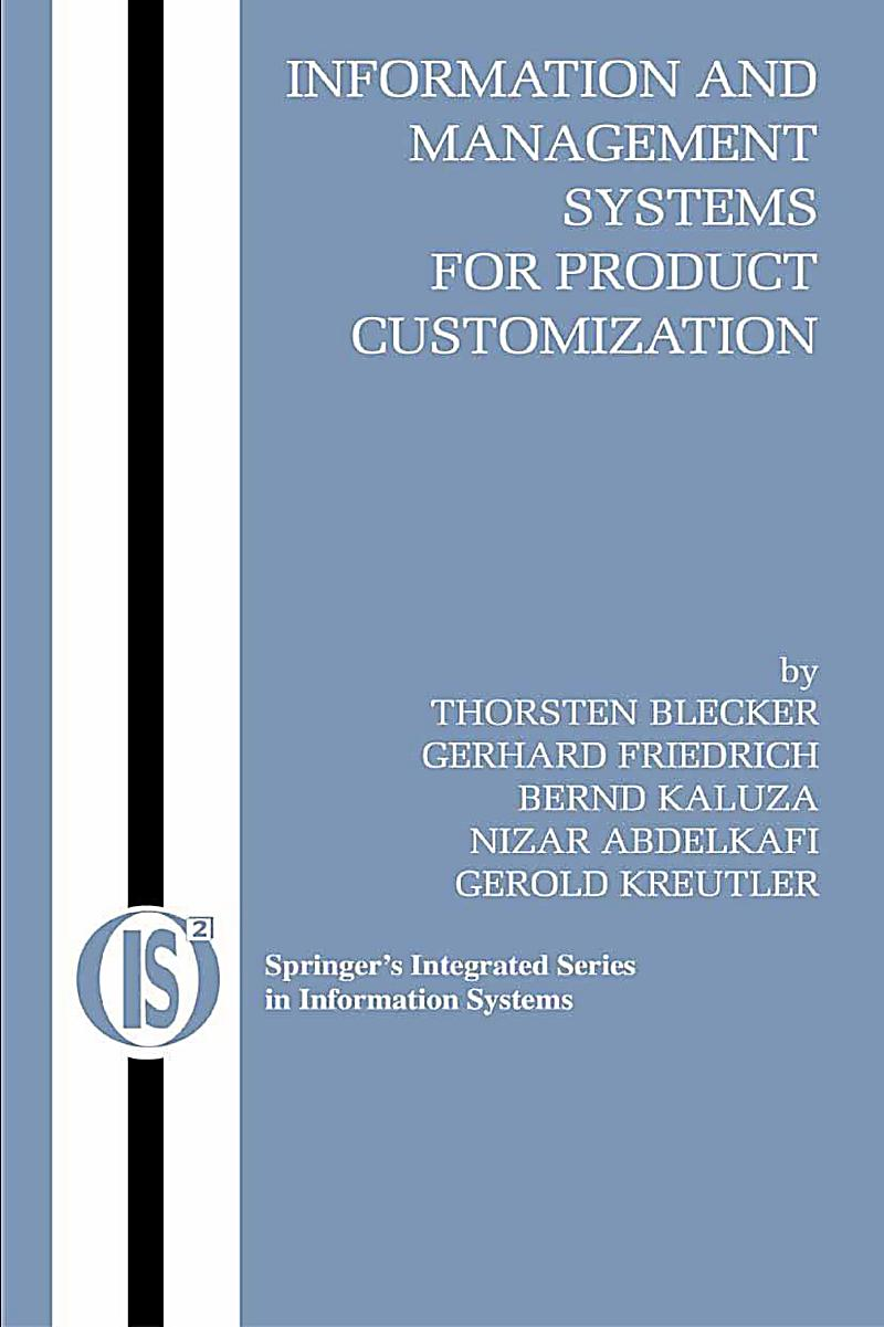 Information and Management Systems for Product Customization