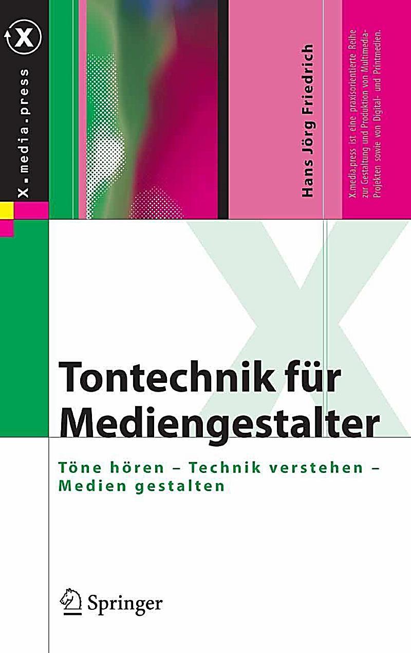X.media.press: Tontechnik f?r Mediengestalter