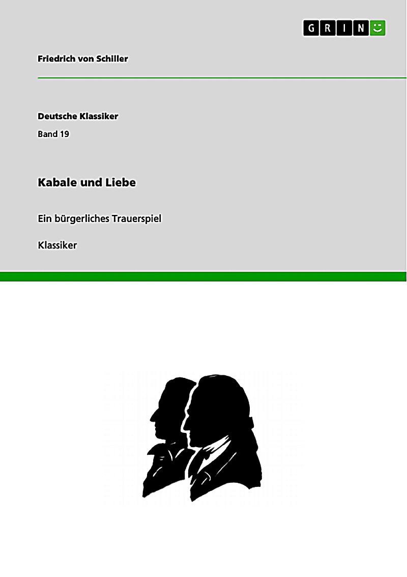 Deutsche Klassiker: Kabale und Liebe
