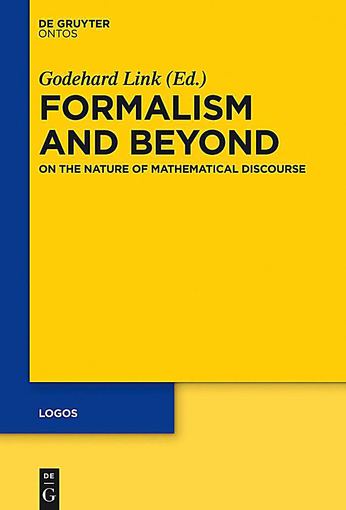 logos: 23 Formalism and Beyond