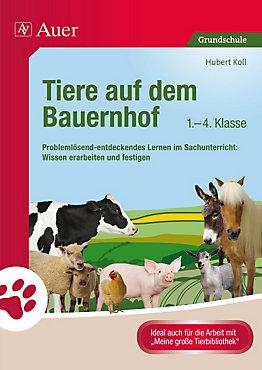 Tiere auf dem Bauernhof, 1-4. Klasse Buch portofrei - Weltbild.de