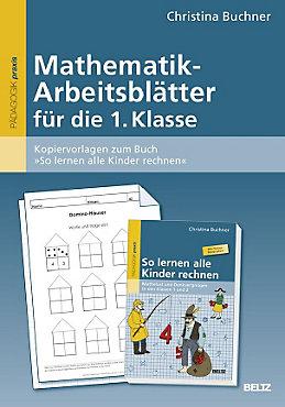 Mathematik-Arbeitsblätter für die 1. Klasse Buch portofrei