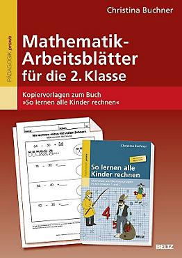 Mathematik-Arbeitsblätter für die 2. Klasse Buch portofrei