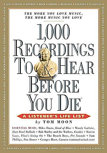 1000 recordings to hear before you die pdf