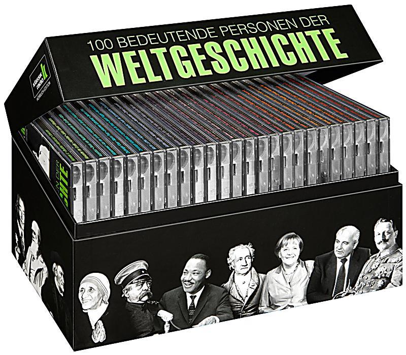 100 bedeutende Personen der Weltgeschichte, 25 Audio-CDs ...