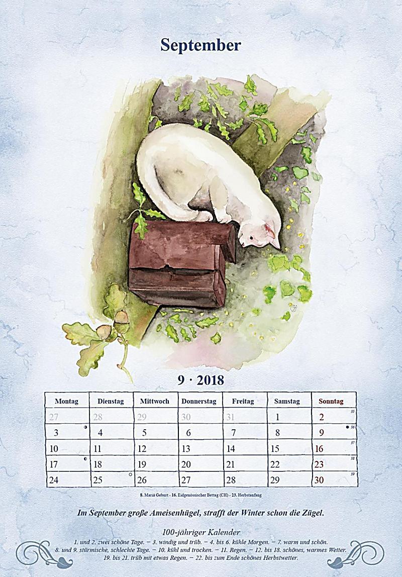 100 j hriger kalender 2018 format 34 x 24 cm kalender. Black Bedroom Furniture Sets. Home Design Ideas