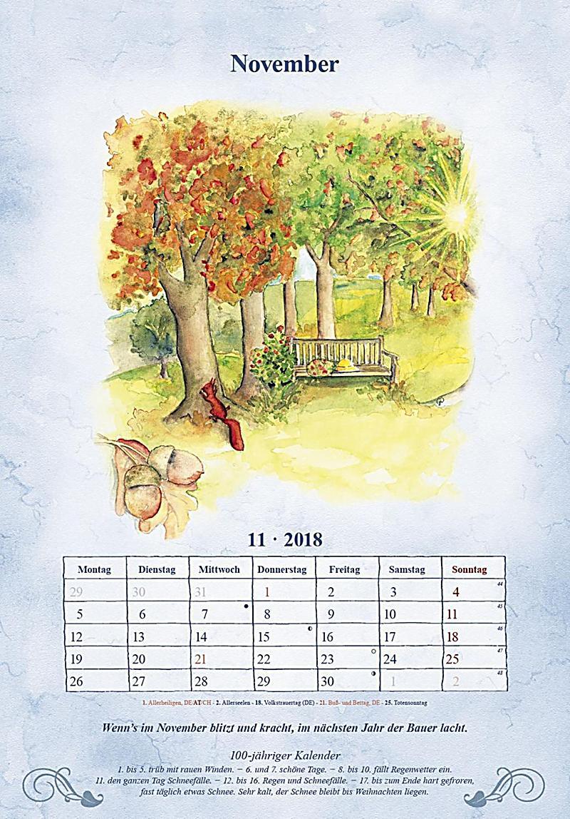 100 j hriger kalender 2018 format 34 x 24 cm kalender bestellen. Black Bedroom Furniture Sets. Home Design Ideas