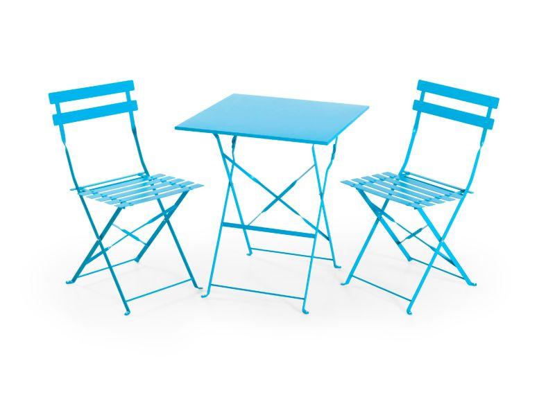 Balkon Möbel Set balkonmöbel set blau jetzt bei weltbild at bestellen