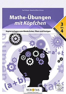 Mathe-Übungen mit Köpfchen 3.-4. Klasse, m. CD-ROM Buch ...