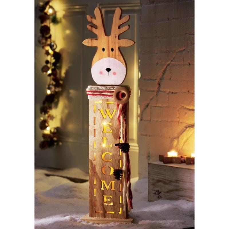 Weihnachtsdeko elch led