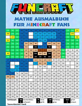 Funcraft - Mathe Ausmalbuch für Minecraft Fans Buch - Weltbild.ch