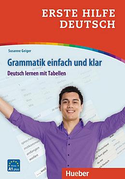Erste Hilfe Deutsch - Grammatik einfach und klar Buch - Weltbild.de