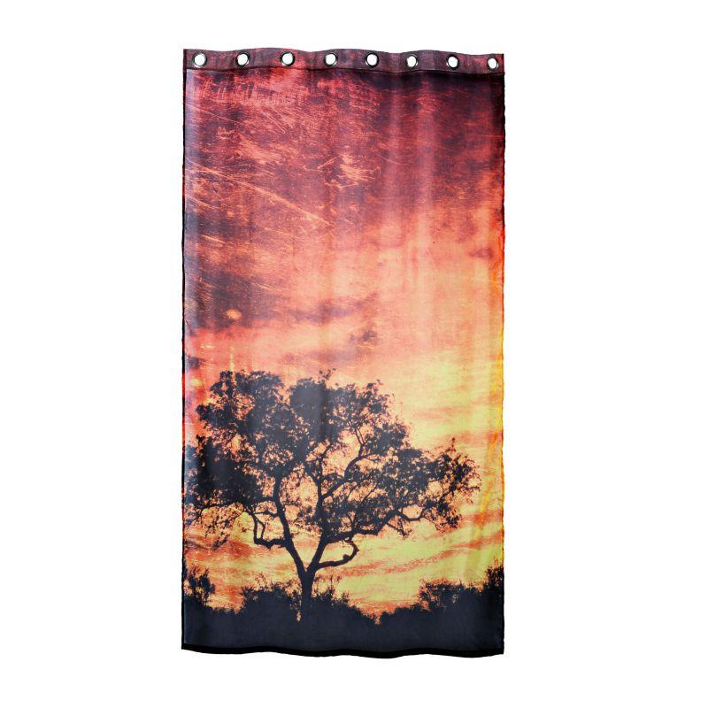 Vorhangstange Aufhängen dekovorhang savanne jetzt bei weltbild de bestellen