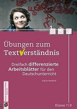 Übungen zum Textverständnis, Klasse 7 8 Buch portofrei bestellen