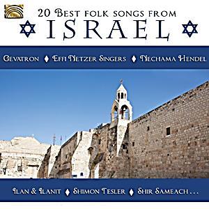 20 best folk songs from israel cd bei bestellen for Top 20 house tracks