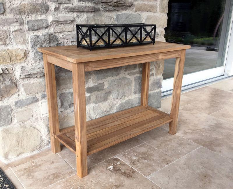 Grasekamp Teak Tisch 100x45x75cm Kaffeetisch Gartenmöbel Couchtisch  Gartentisch | Weltbild.de